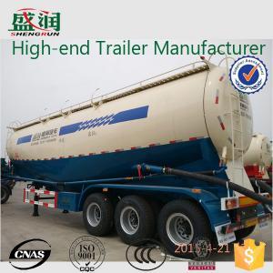 China Трейлер 45cbm цемента механически подвеса сухой навальный, трейлер топливозаправщика цемента wholesale