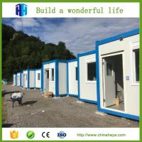 China prefab sandwich panel folding container van house for sale philippines wholesale