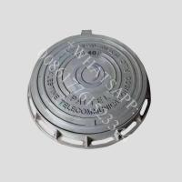 China en124 d400 iron window grill design  ductile iron heavy duty manhole cover on sale