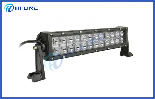 Quality 72W Double Row Truck LED Light Bar CREE Waterproof Combo Beam LED Working Light Bar for sale