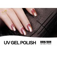 China 7.5ml Chameleon Cat Eye Gel Nail Polish Magnetic Changing Color Odourless wholesale