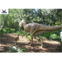 High Simulation Animatronic Giant Dinosaur Statue Water / Corrosion Resistant