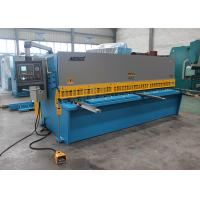 China EU Streamlined Design Iron Hydraulic Shearing Machine Multi - Edge Blades 25mm 3.2m wholesale