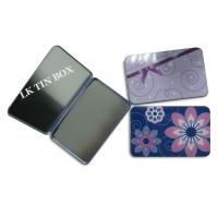 China Protect Packaging Small Tin Box For Women Sanitary Pad Tampax Compak wholesale