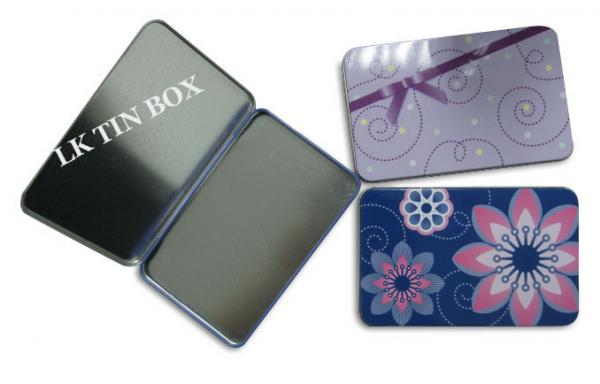 Quality Protect Packaging Small Tin Box For Women Sanitary Pad Tampax Compak for sale