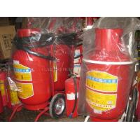 China new design 150LBS wheeled dry powder fire extinguisher on sale