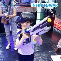 China FuninVR New Technology Video Games 360 View Virtual Reality VR Game Kids Free Battle 9D VR Standing Up Infinite War wholesale