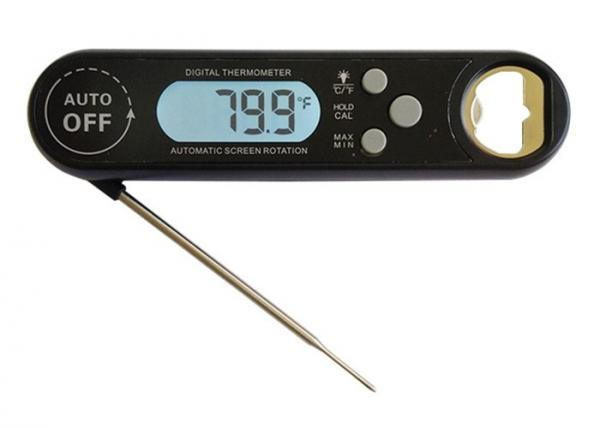 Quality Auto Rotation Screen Bbq Temperature Thermometer , Digital Food Probe Thermometer for sale