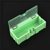 China Durable Green SMD Storage Box , Plastic Electronic Components Box wholesale