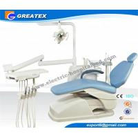 China CE Approved modern ergonomic Leather dental operatory chairs With LED Sensor Light wholesale