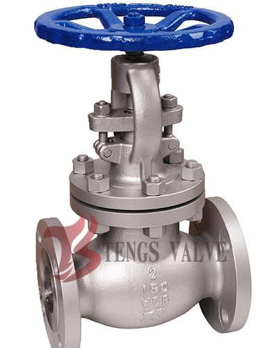 Quality Cast Carbon Steel Industrial Globe Valve 2 Inch ANSI 150LB Rising Stem J40H for sale