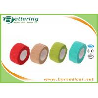 China Non Woven Elastic Self Adhesive Bandages for finger wrap, cohesive bandage wholesale