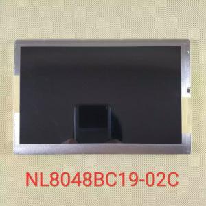 China NEC Medical imagine lcd 800*480 Pixels 550CD/M2 20 Pin NL8048BC19-02C on sale