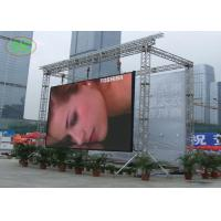 China Comercial Advertising Full Color Hanging Led Display P10 LED Screen on sale