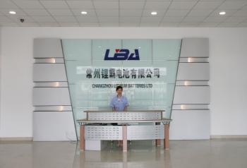 Changzhou Lithium Batteries Co .,Ltd.