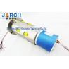 China Aluminium Alloy Pneumatic Electric Hybrid Slip Ring Through Bore Slip Ring 300mm Lead Length wholesale