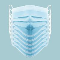 China Person Care Disposable Respirator Mask  3 Layer Air Filter  Surgeon Face Mask on sale