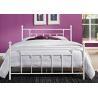 China Decorative Full Size Metal Beds , Double White Full Storage Bed Frame Platform wholesale