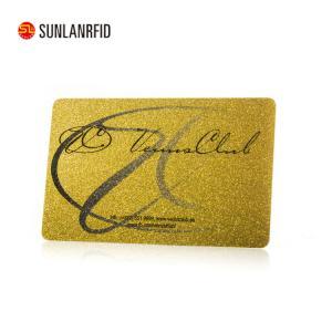 China Credit Card Size Hico /Loco Plastic Pvc Rfid Metal Magnetic Stripe Card on sale