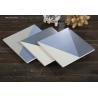 China Blue And White Glazed Ceramic Tile  For Shower Floor Fancy  Non Slip  20x20cm wholesale