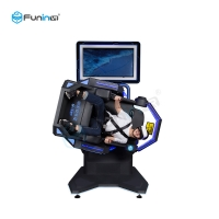 China FuninVR Factory Price 9D VR 360 Degree Simulator VR Motion Chair for VR Amusement Rides wholesale