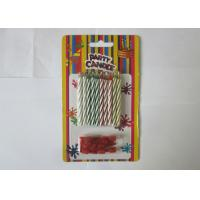 Fashion Colorful Art Trick Birthday Candles Magically Reigniting SGS Certificated