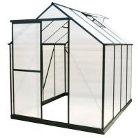 China clear/transparent pc corrugated plastic sheet for greenhouse on sale