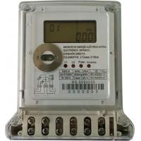 China Brownouts Operatable 2 Phase Electric Meter , Large Volume Electronic Kwh Meter meaure neutral missing on sale