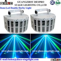 IP20 RGBW LED Disco Lights 2pcs*10W LED Double Butterfly Stage Light Effect
