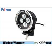 China 40W Spot / Combo CREE Round Driving Lights Die Cast Aluminum Housing wholesale