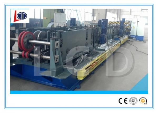 Quality Cr12 Blade Cable Tray Roll Forming Machine With Punching 15m / Min Forming Speed for sale