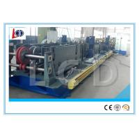 China Cr12 Blade Cable Tray Roll Forming Machine With Punching 15m / Min Forming Speed wholesale