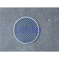 China WWS-400 Johnson Screen Filter , Flange Ring Wedge Wire Panel With Smooth Surface wholesale