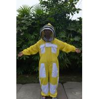 China Yellow Color New type Ventilated Bee Suit of Beekeeping Protective Clothing wholesale