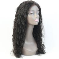 China Top grade natural hairline cheap 100% human hair silk top full lace wigs wholesale