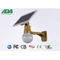 Moon Style solar powered led lights with battery , light sensor timing function