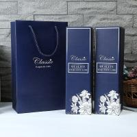 China Foldable Custom Printing Luxury Paper Gift Box Wine Packing With Bag wholesale