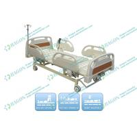 China Three Functions ICU Room Electric Hospital Bed With Center Control Lock wholesale