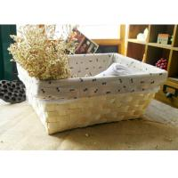China wood basket storage box sundries basket wholesale