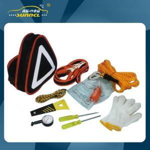 China Auto Roadside Emergency Tool Kit Car Breakdown Safety Flashlight Booster wholesale
