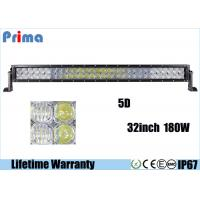 China Double Row 5D 32 Inch CREE LED Car Light Bar For 4x4 Jeep 180W Super Bright wholesale