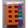 China Pink EVA Halloween Nail decal Fake Nails Kit for gift , Nail Art Tools Kit wholesale