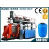 China Машина дуновения СИМЕНСА управляемая мотором пластиковая отливая в форму для цистерн с водой СРБ120З wholesale