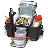 China custom polyester non woven cans thermal frozen food lunch insulated cooler bag wholesale