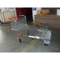 Colored Coating Shopping Trolleys Q195 Low Carbon Steel Platform 600kgs