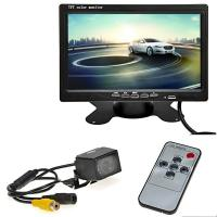 China Eco Friendly Car Reverse Camera With LCD Monitor 7 Inch Dashboard Placement on sale