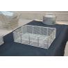 Stainless steel washing basket