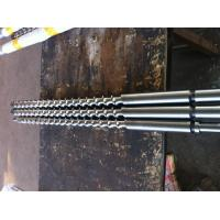Buy cheap 90mm Bimetal extruder screw barrel for PVC PP film blowing from wholesalers
