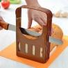 China ECO Friendly Kitchen Baking Tools Plastic bread Slicer Adjustable With FDA wholesale