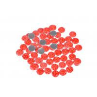 Lead Free Loose Hotfix Rhinestones Glass Material 12 / 14 Facets With Multi Colors